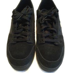 Men's Nike Black Suede Skater Shoe Trainer/Gym/PE